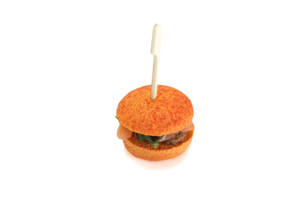 Mini burger saumon