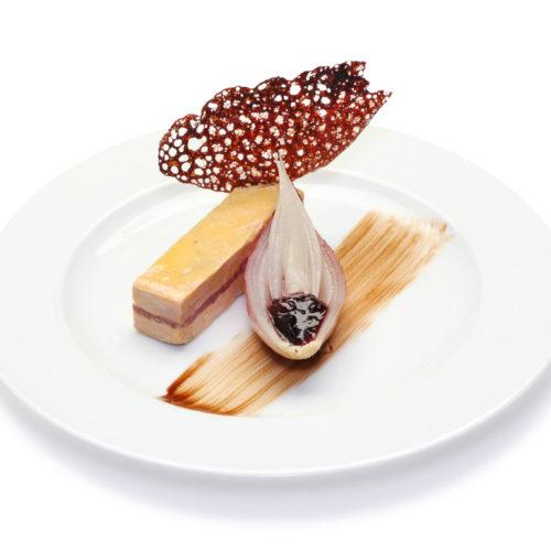 Foie-gras-et-confit-en-marbre-et-echalote-fondante-buffet-froid
