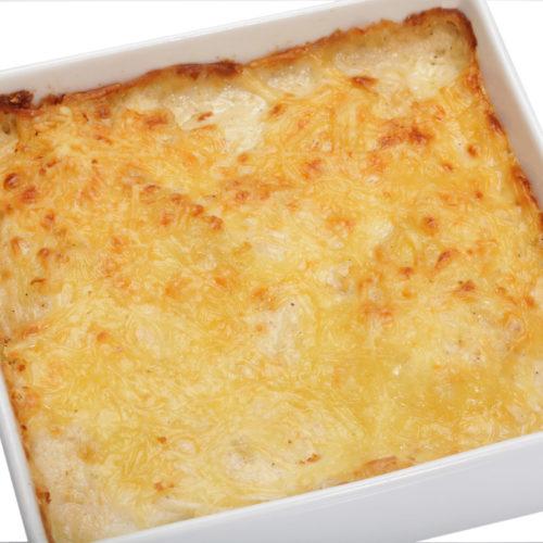 gratin de macaronis crémeux