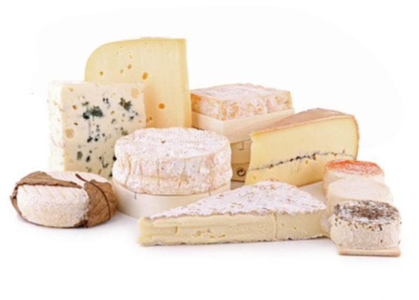 Plateau de fromages affinés