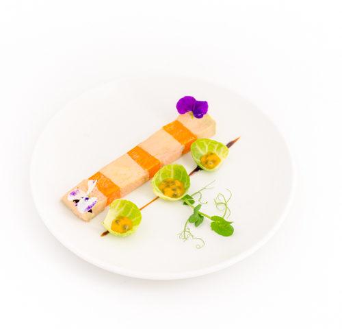 foie gras de canard au potiron et miel épicé repas menu 2 plats noel et fete-menu-repas-romantique-saint-valentin-le-cupidon