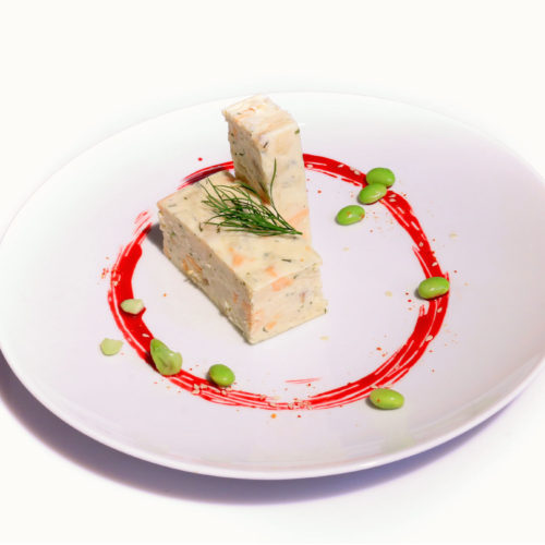 Marbré de lotte crème de safran