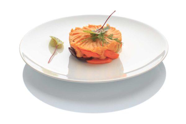 Mousse de carottes Arlequin