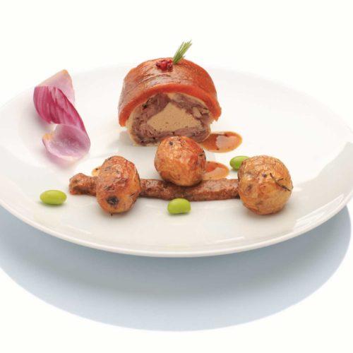Pressé de caille au foie gras