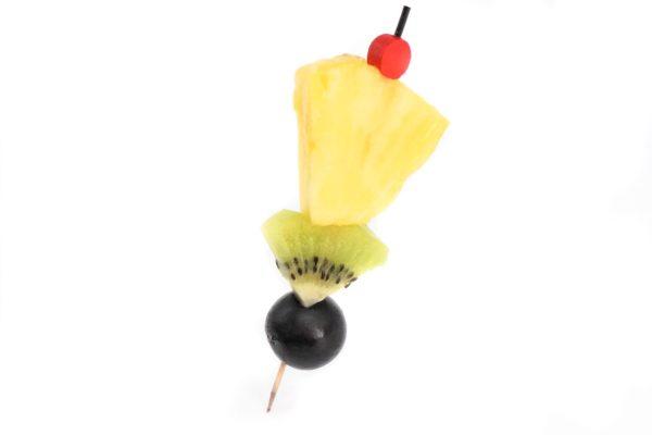 mini brochette de fruits frais