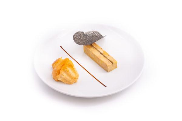 Foie gras aux cèpes
