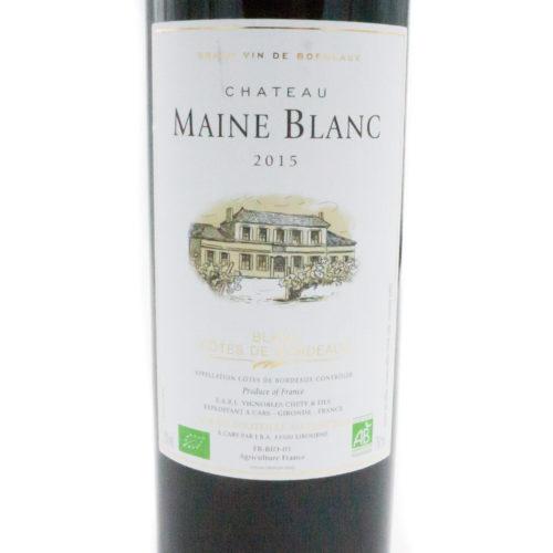 Côte de Blaye Maine Blanc