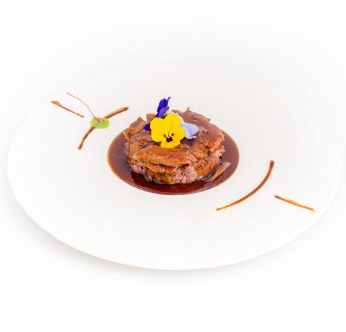 canard confit laqué à la prune japonaise repas menus 3 plats noël fêtes