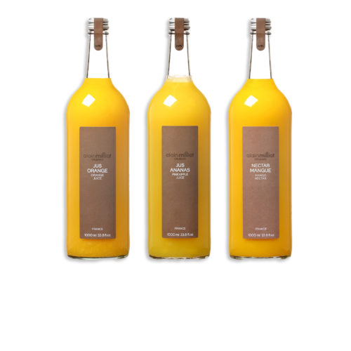 3 jus alain milliat mangue orange ananas