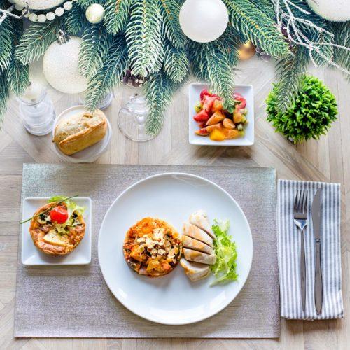 plateau repas spécial fêtes
