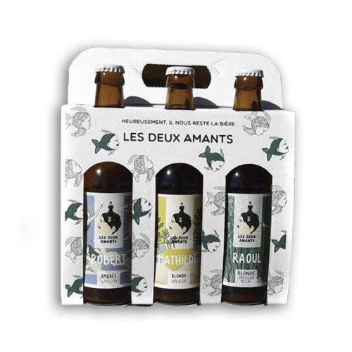 coffret cadeau 3 bieres artisanales