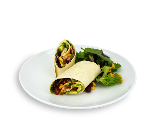 wrap avocat a la mexicaine