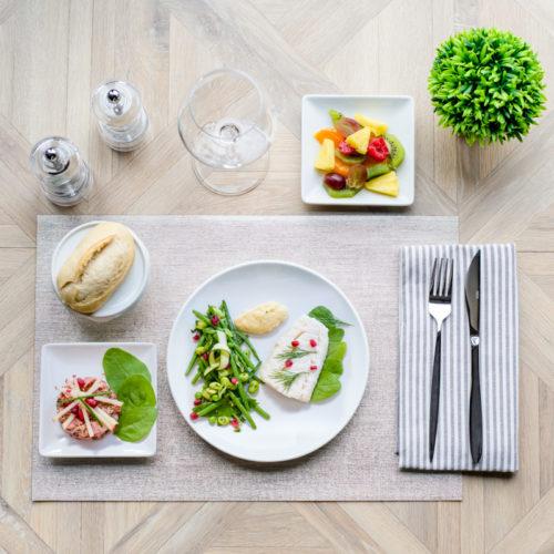 plateau repas sans gluten scandinave