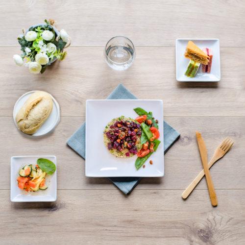 plateau repas végétarien le tout légume