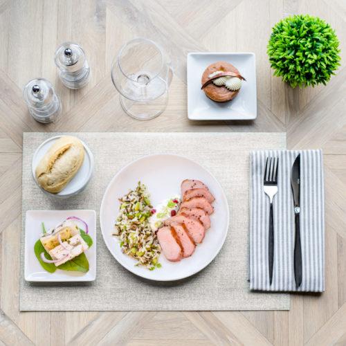plateau repas viande acidulé