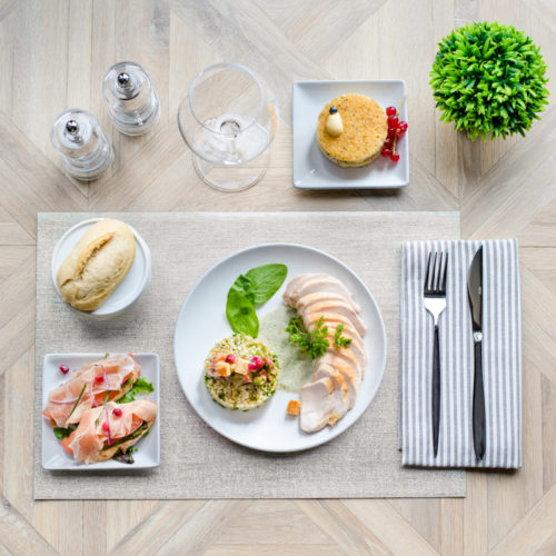 plateau repas viande l'amalfi